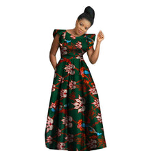 African Dresses For Women 2019 Sets Robe Wax Africain Sleeveless For Party Dresses