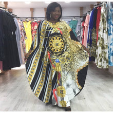 African Dresses For Women Dashiki Sequined African Clothes High Quality Grand Boubou Africain Fashion Africa Dress For Ladies