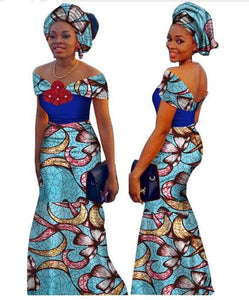 African Dresses For Women Time Limited Top Fashion Cotton 2017 African Ikcclassicafricanfashion
