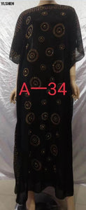 African Dresses for Women Dashiki Diamond African Clothes Gown Bazin Riche Sexy Robe Boubou Africaine Long Africa Dress Clothing