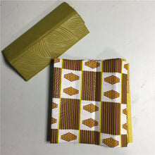 African Fashion style New Wax fabric for women party dress 4yards kente wax fabric for ladies dress