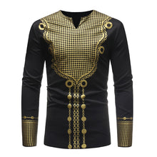 African Tee Shirt Homme 2018 Brand New African Dashiki Dress Shirt Men Tribal Ethnic Print T Shirt Traditional African Clothing