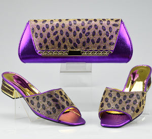 Black Color Women Shoes and Bag Set In Italy Ladies Matching Shoes and Bag African Shoe and Bag Set Italian Design Shoes and Bag
