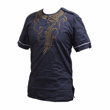 Dashikiage Pan-African Hippie Boho Dashiki Gold Embroidered Shirt Traditional Nigerian Native Ankara Party T-shirt
