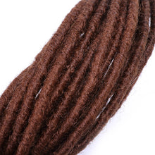 Dreadlocks Hair Extensions 24 inch Synthetic Fashion Crochet Hair Hip-Hop Style Synthetic Crochet Braiding Hair
