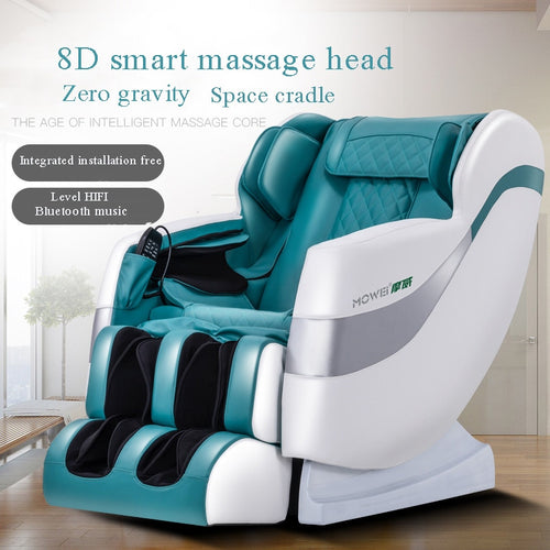 Family Massage Chair Home Multifunctional Luxury Space Cabin Electric Massage Chair Bluetooth Music Relax Body