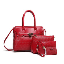 Famous Designer Homeda Luxury Brands Women Bag 4 Piece Set Good Quality Medium Handbag Set Women Shoulder Bags bolsa feminina