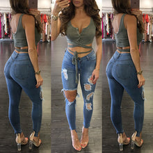 HOT Fashion Women Sexy Deep V-neck Buttons Tanks Sleeveless Bandage Crop Tops Summer Casual Solid Lady Tanks