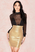KLEEZY 2018 Women Bandage Skirt Rayon Summer New Arrivals Sexy Vestido Bodycon Elegant High Waist Pencil Skirt Club Party HL4169