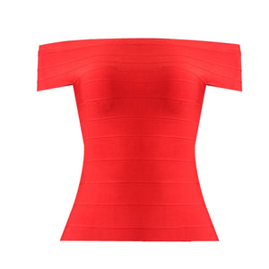 KLEEZY SALE Super Discount 2018 Vestidos New Arrival Sexy One Shoulder Top Bandage Bodycon Cloth HL1512