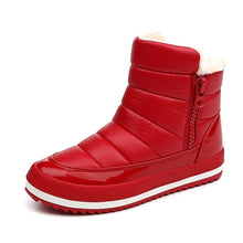 LAKESHI New Women Boots 2018 Warm Winter Boots Fashion Winter Snow Boots Women Ankle Botas Cotton Waterproof Winter Shoes