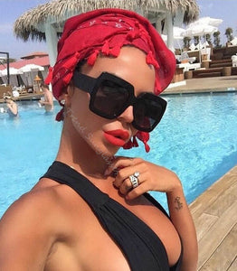 Luxury High Quality Square Sunglasses Women Brand Designer Retro Shades Vintage Lady Sunglass Female Sun Glasses For Women UV400