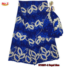 Beaded Nigerian Lace Fabric Embroidery Nigerian French Net Lace Fabric High Quality African Lace Fabrics Whit Stones