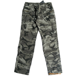 New Women's Camouflage Casual Pants Fashion Army Green  Plus Size 100% Cotton Causal Cargo Pants Women S~2XL B34F1