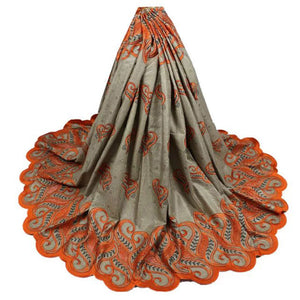 New arrive african bazin riche getzner fabric with lace african bazin riche fabric guinea brocade jacquard Damask