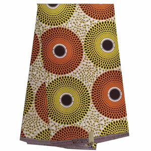 New design african fabric real wax print beautiful african wax prints fabric 6 yards ankara fabric