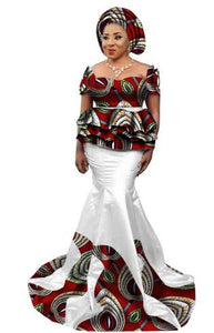 Robe Africaine Time-limited Limited African Dresses Printing African Women  Clothing 2017 Cotton Cambric 8c2168cd1