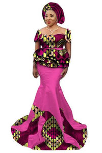 Robe Africaine Time-limited Limited African Dresses Printing African Women Clothing 2017 Cotton Cambric