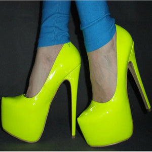 SHOFOO shoes.The elegant and fashionable leather fabric, free shipping, 14.5 cm high-heeled shoes, round toe pumps.SIZE:34-45
