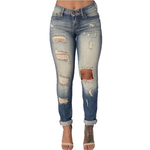 5fb25c0aef Spring Skinny Jeans Woman High Waist Jeans Femme Stretch Women's Pants Denim  Women Jeans Trousers For