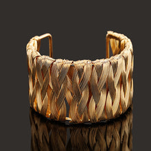 Star Jewelry Punk Style Cuff Bangles Gold Metal Wrap Weaving Gold Silver Bracelet Clothes Jewelry Costume Jewellery