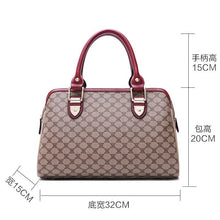 The Middle aged Mother Bag Handbag Female And Retro Boston All match Small Pillow handbag ladies tote bag Women Leather Clutch