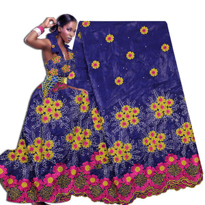 Wholesale New Fashion Design African Bazin Riche African bazin riche getzner for Women Clothing Long Dress