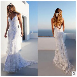 Women white lace patchwork long summer camis evening party dress dresses Vestidos for female women sexy v-neck party dress women
