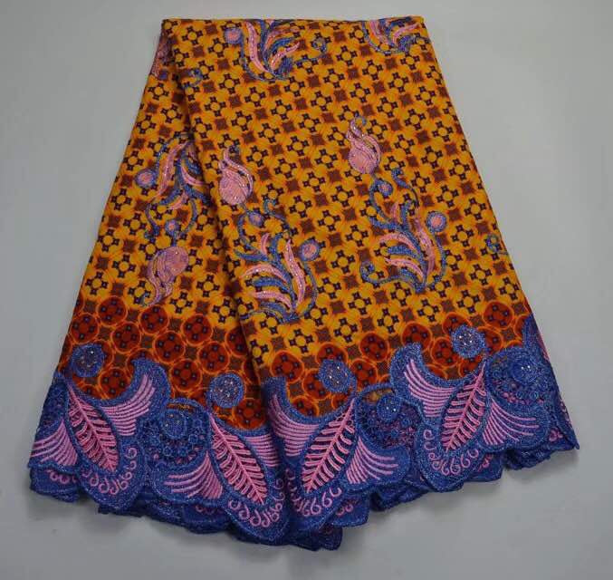 Ankara wax lace 5 yard