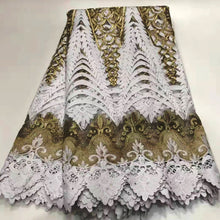 prefenerti African Lace Fabric 2019 Embroidered Nigerian Laces Fabric Bridal High end French Tulle Lace Fabric For Wedding Party