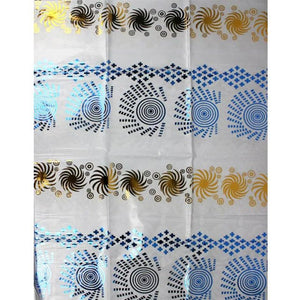 white high quality african jacquard fabric nigerian bazin riche fabric bazin riche getzner for party dresses 5yard/lot YBGB-002