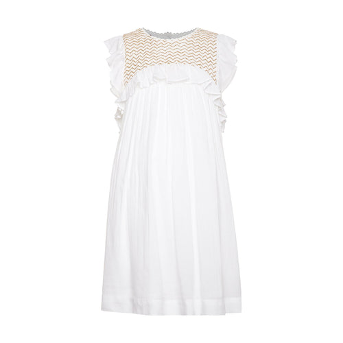 Girl's Summer Embroidered Dress