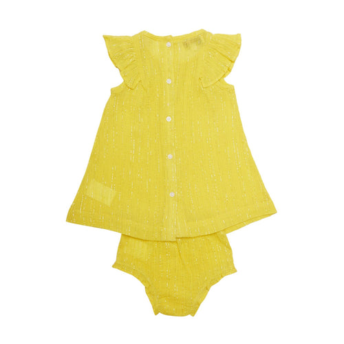 Solid Yellow Baby Set