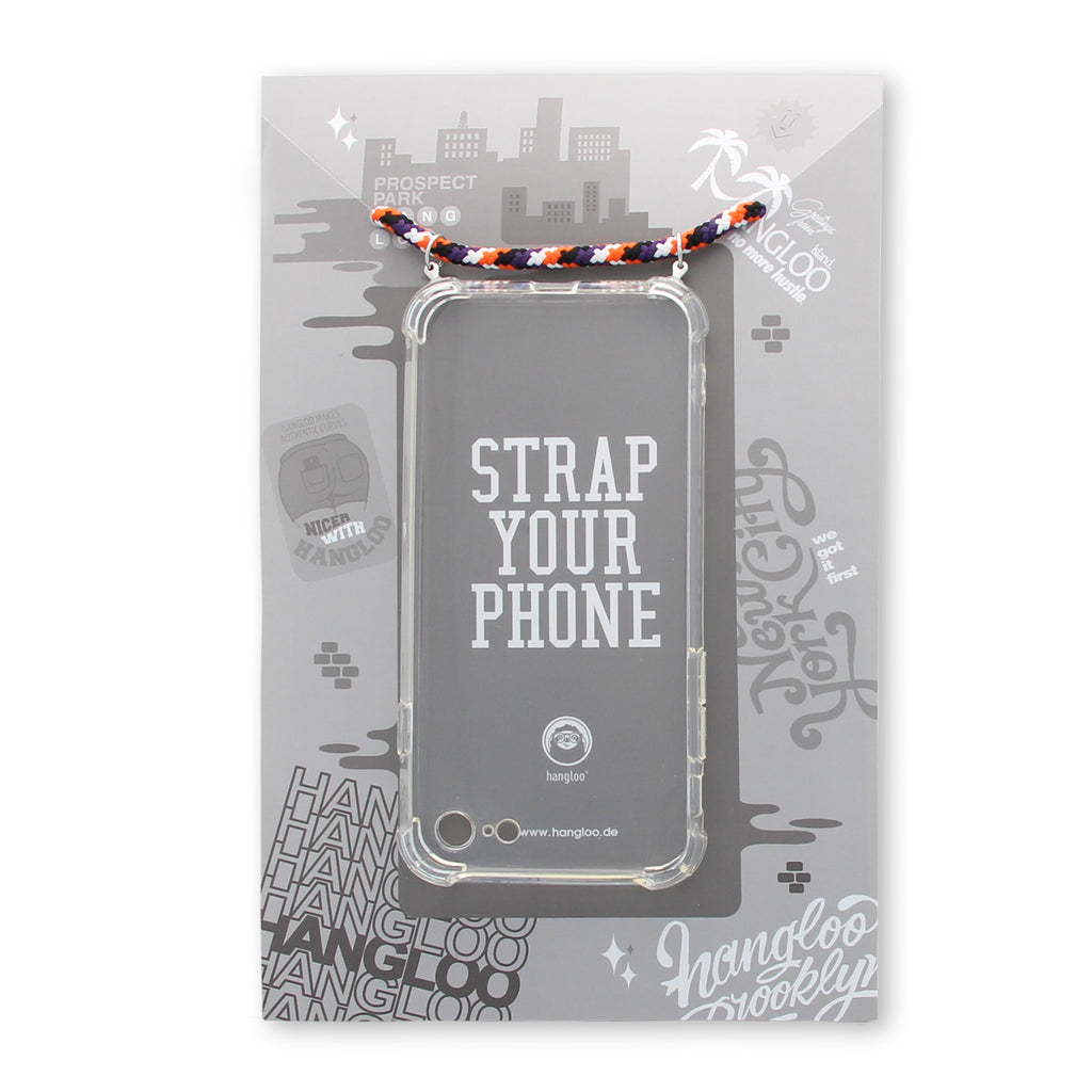 mobile phone carrot cake strap white background packaging verpackung