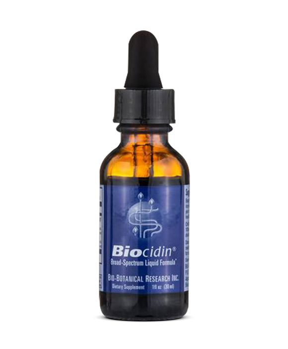 Biocidin-natural anti-fungal, viral, bacterial supplement
