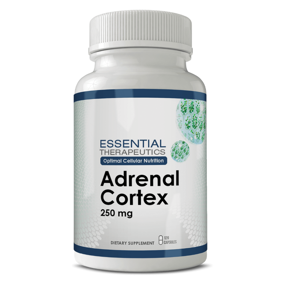 Adrenal Cortex Glandular Supplement-increases mental and physical energy and helps with stamina and resistance to stress. See video below