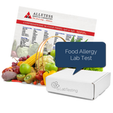Food Allergy Test Kit-Finger Prick ELISA Test Kit for 96 Foods Includes Comprehensive Food Allergy Diet Booklet