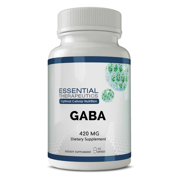 GABA 420 mg-natural calming supplement
