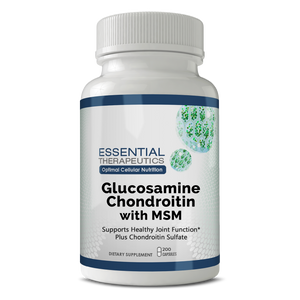 Glucosamine Chondroitin with MSM-natural supplement formula to help reduce symptoms of joint pain