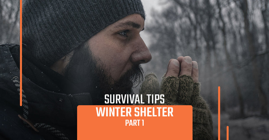 Survival Tips: Winter Shelter, Part 1