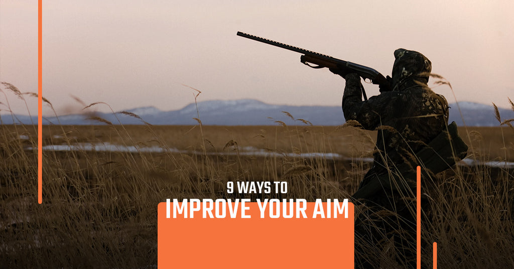 Shooting Gear: 9 Tips for Improving Your Aim – Copper Ridge