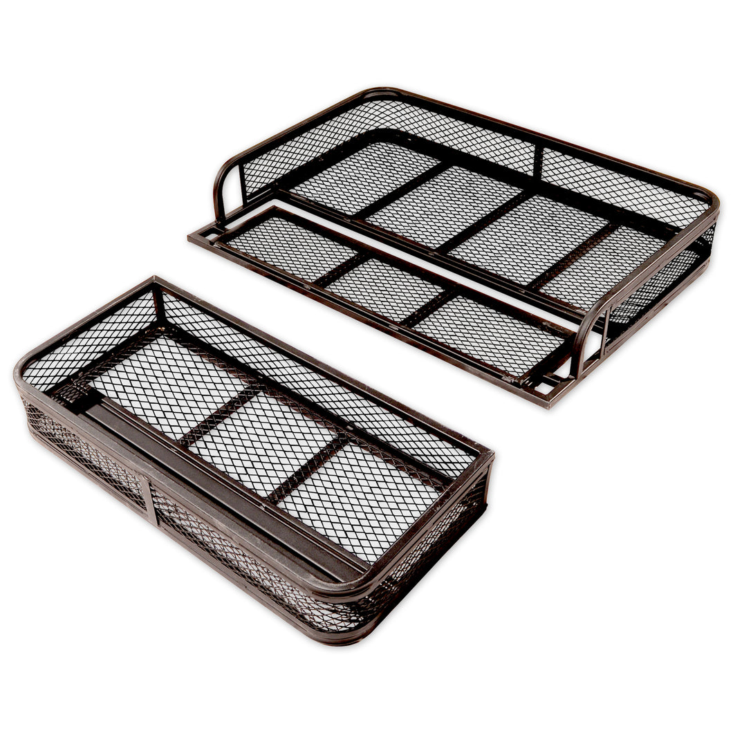 front and rear atv basket set