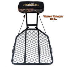 Copper Ridge Outdoors hang-on deer stand front view