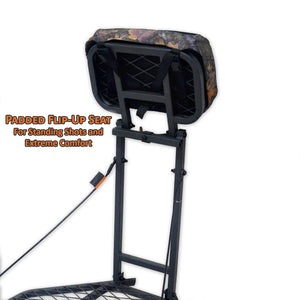Copper Ridge Outdoors hang-on deer stand flip-up seat