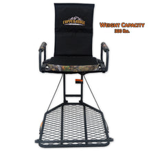 Copper Ridge Outdoors deluxe hang-on stand front view