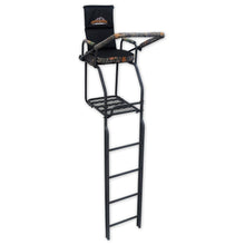 Copper Ridge Outdoors deluxe double rail hunting ladder stand