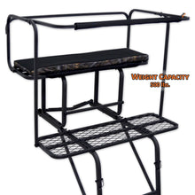 ladder stand with weight capacity of 500 pounds