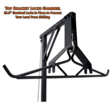 Copper Ridge Outdoors deluxe swivel lift top bracket close up