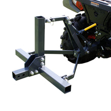 Copper Ridge Outdoors three-point hitch lift system complete setup
