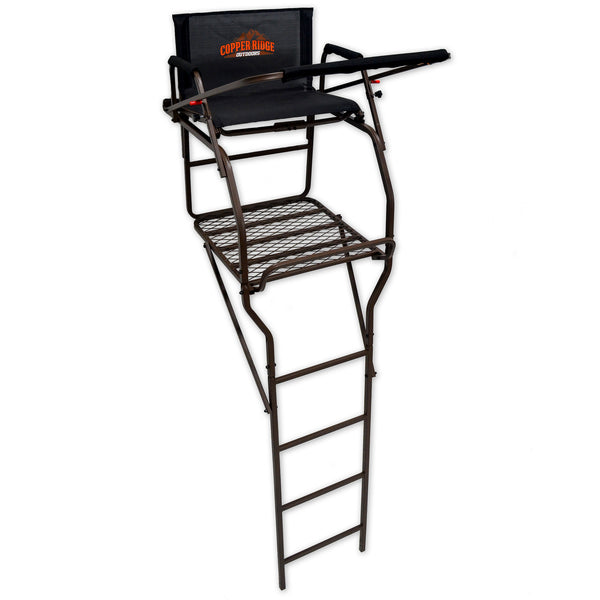 Copper Ridge Outdoors ultra comfort man-and-a-half ladder deer stand full view